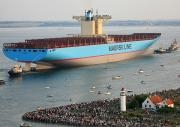 Containership Emma MAERSK